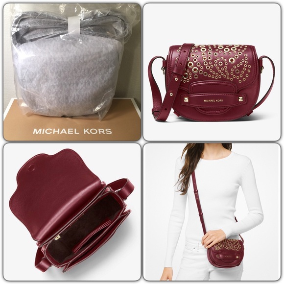 f183786c3 MICHAEL Michael Kors Bags | Nwt Michael Kors Cary Grommeted Leather ...